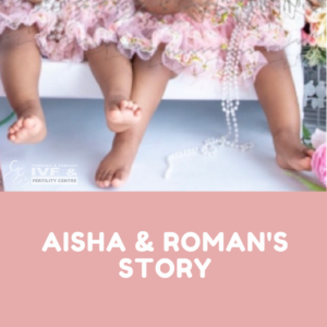 Aisha and Roman's success story getting their babies at Trinidad IVF